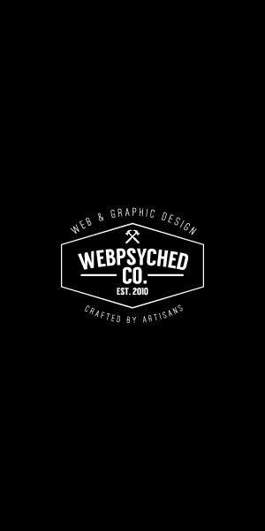 Webpsyched Co. - Web and Graphic Design Crafted By Artisans.