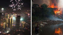 fireworks new year manila 2014 2015