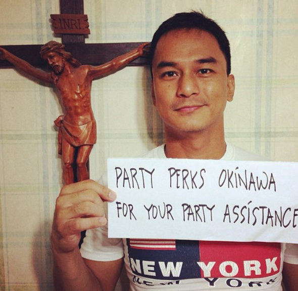 (Instagram/@partyperksokinawa)
